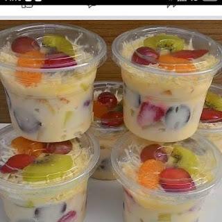 Salad Buah Yogurt Ekonomonis