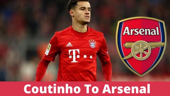 Coutinho to Arsenal