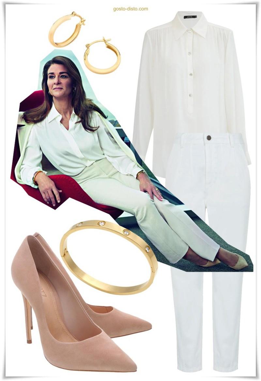 Melinda Gates - looks de rica