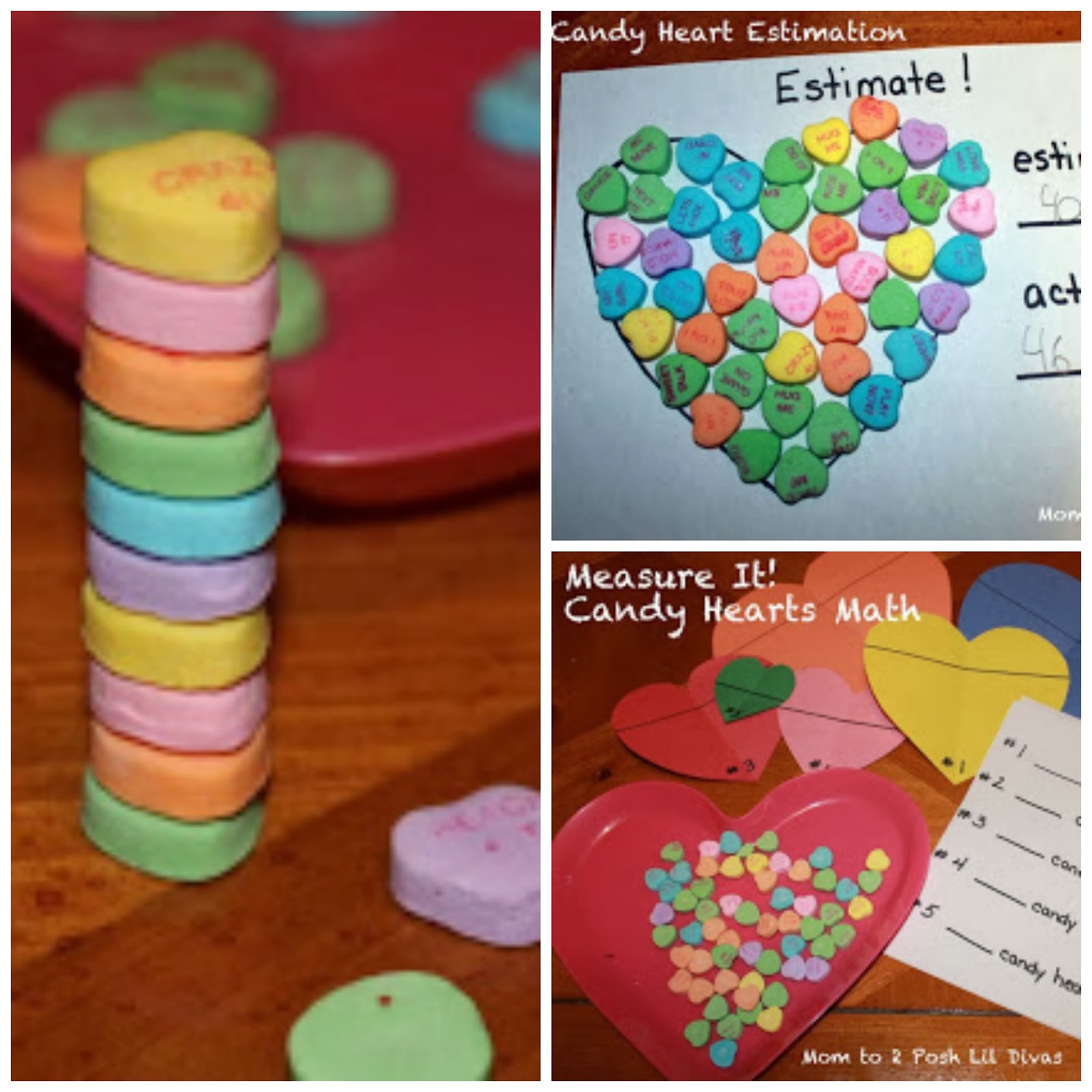 Conversation Candy Hearts Math