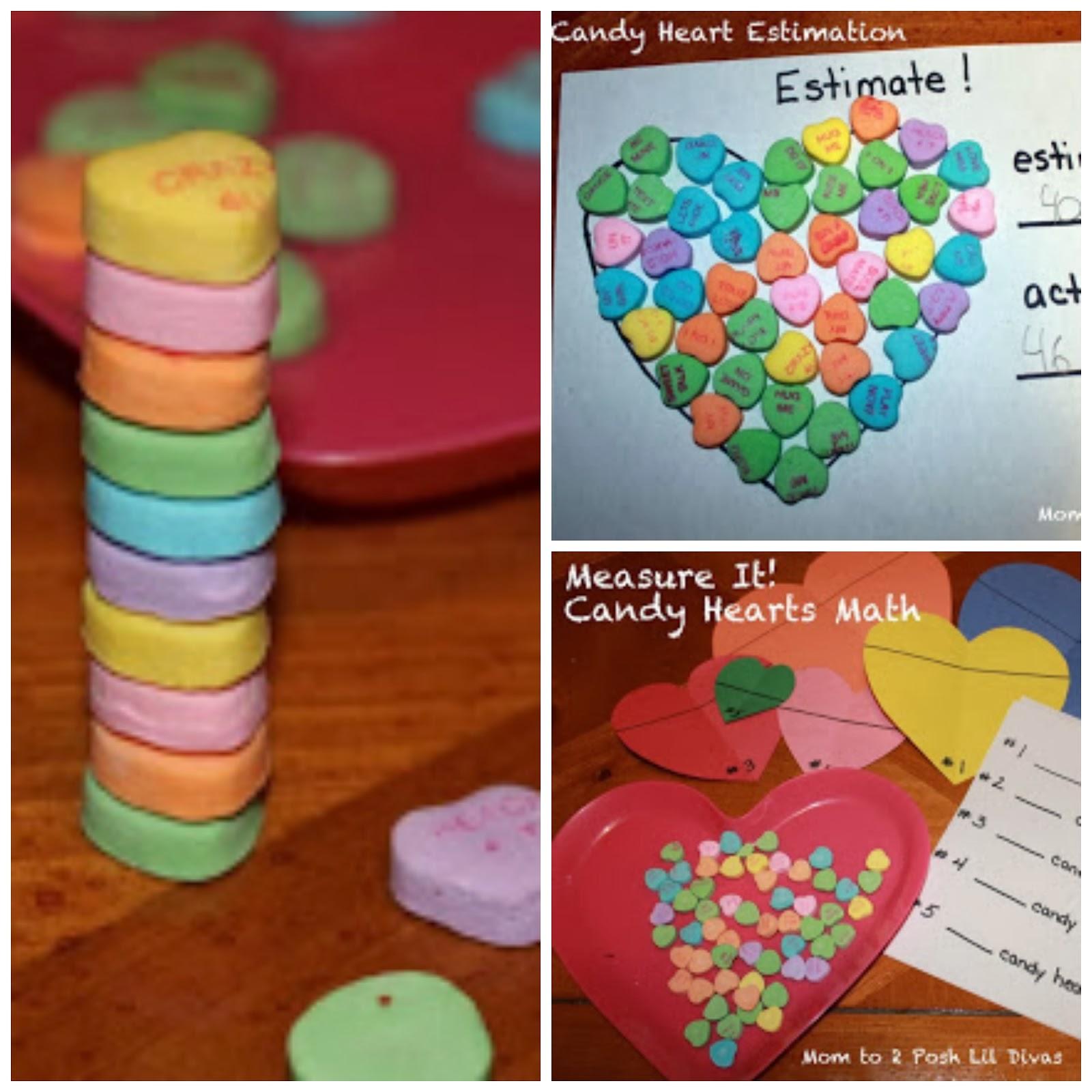 Conversation Candy Hearts Math