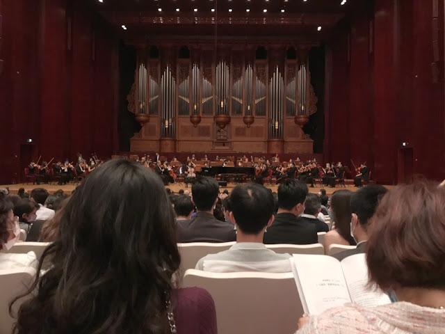 臺北國家音樂廳2樓16排視野