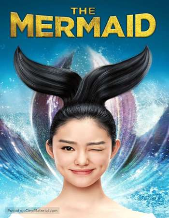 Poster Of The Mermaid 2016 Hindi Dual Audio 400MB BluRay 720p ESubs HEVC Free Download Watch Online downloadhub.in