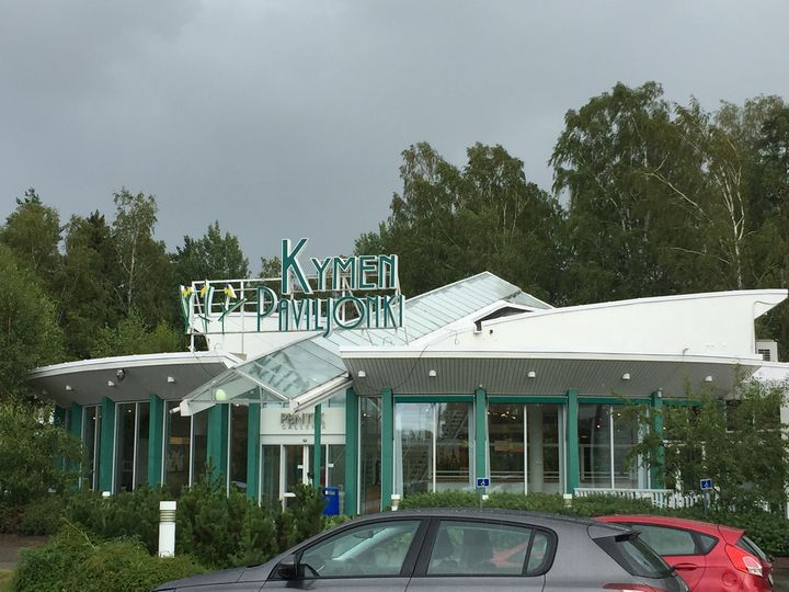 Lähimatkailua Kaakkois-Suomessa Kymen Paviljonki, Keltti