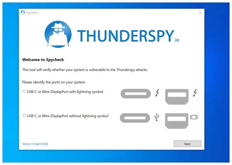 Εξακριβώστε αν ο υπολογιστής σας είναι ευάλωτος στο Thunderspy