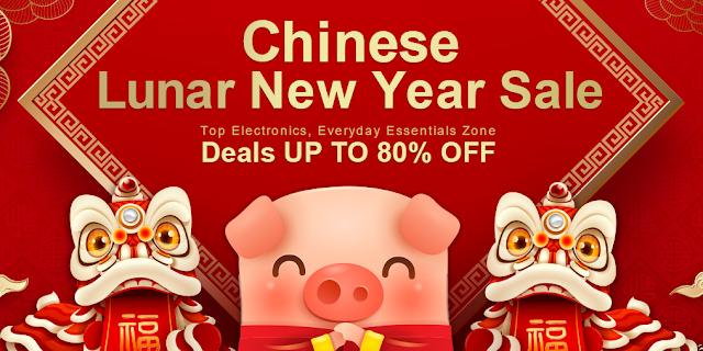 Novo ano Chinês na Gearbest - Promoção