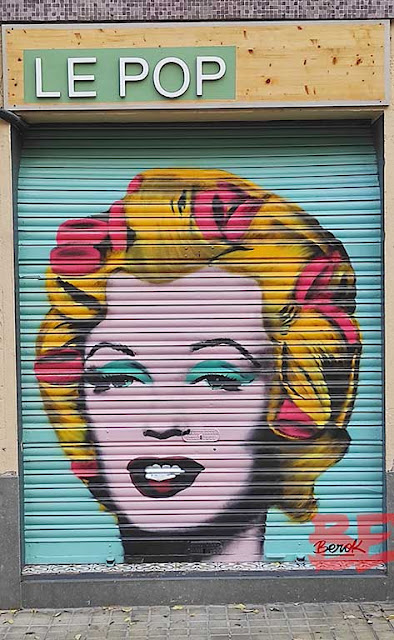 Persiana Marilyn Monroe Pop Art Le Pop