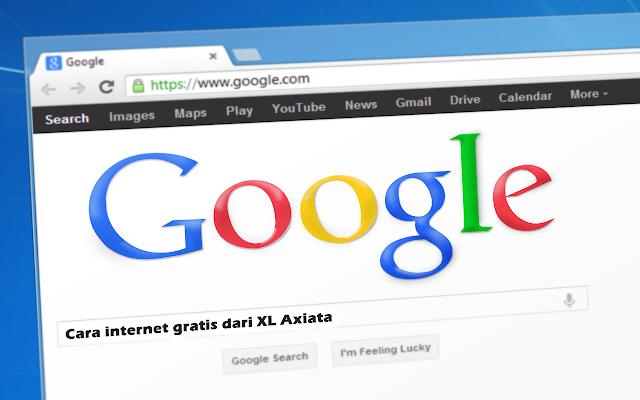 Cara internet gratis dari XL Axiata