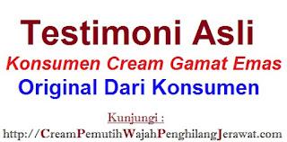 Testimoni terbaru cream gamat hpa krim pemutih/penghilang jerawat bekas