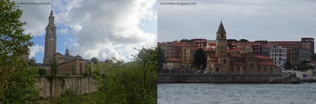 Viaje a Asturias - Gijón: Edificio de la laboral y Cimadevilla