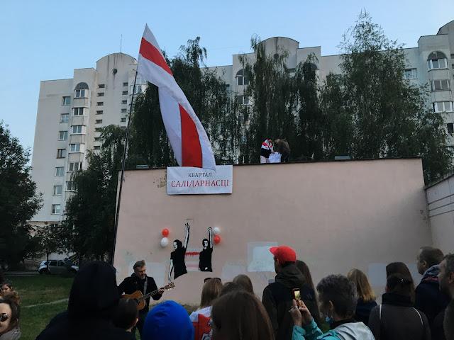 Minsk Belarus Lukaschenko Musik Proteste 2020
