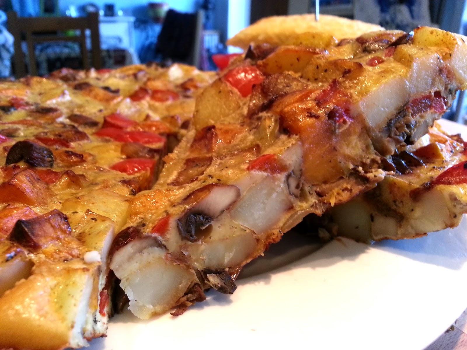 Slimming World Delights Roasted Vegetable Tortilla
