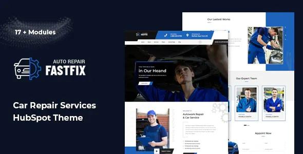 Best Auto Repair HubSpot Theme