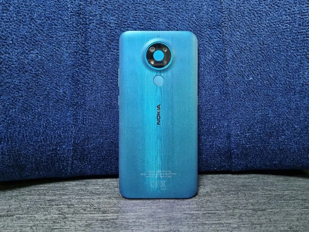 Nokia 3.4 Vibrant Fjord Colorway