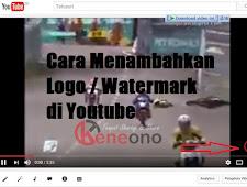 Cara Menambahkan Logo Branding Watermark di Youtube