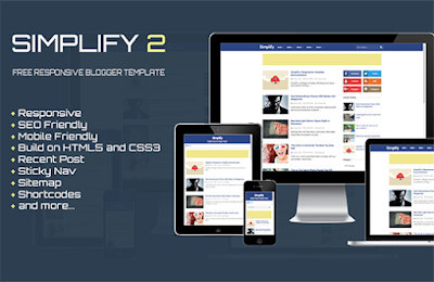 Simplify 2 - SEO Responsive Blogger Template