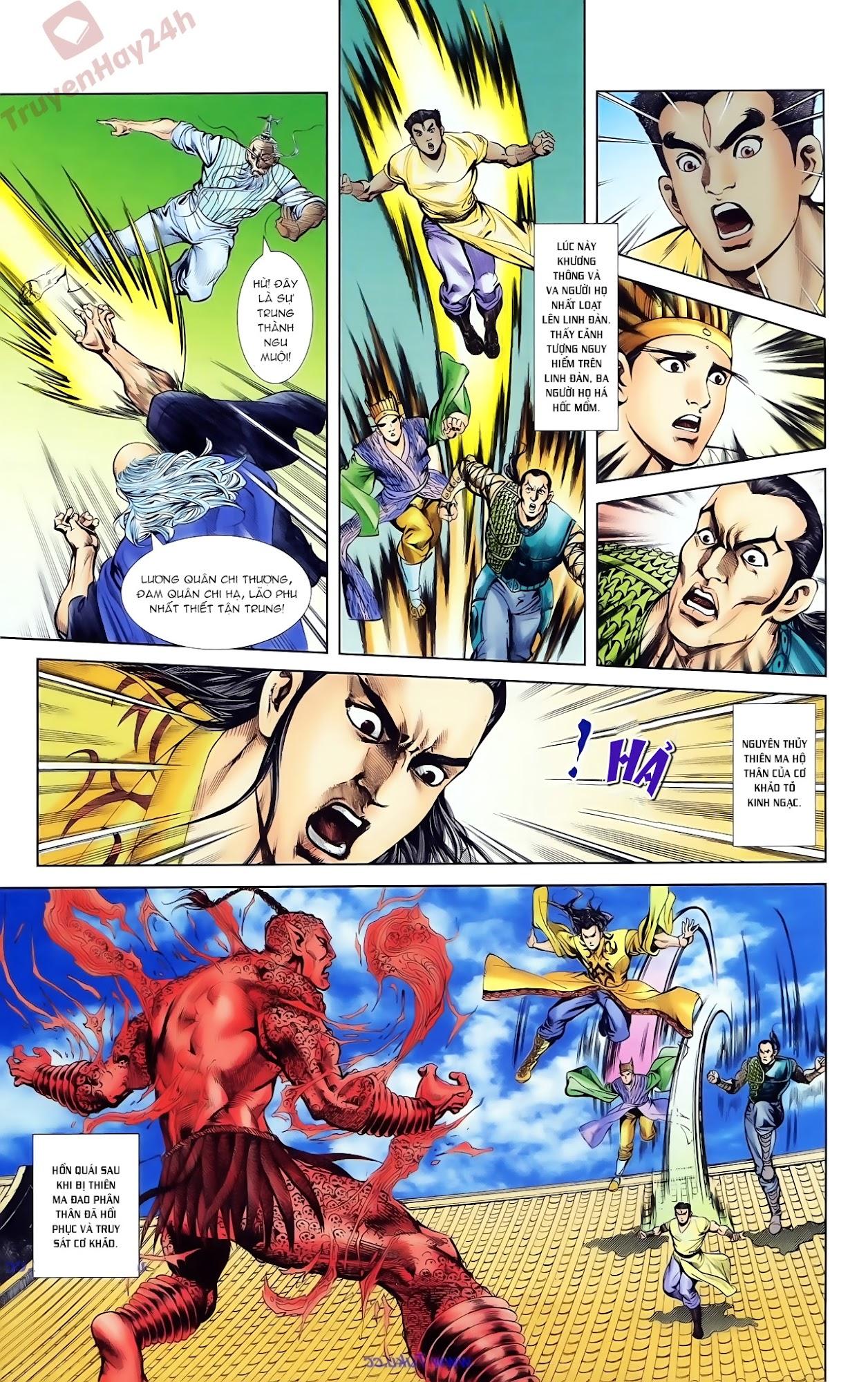 Cơ Phát Khai Chu Bản chapter 80 trang 11