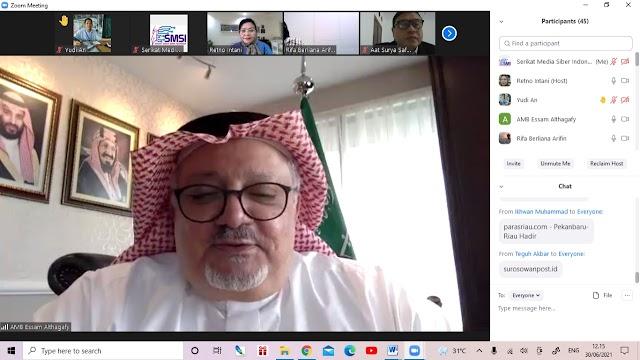 Dubes Arab Saudi Siap akan Resmikan Mushola Journalist Boarding School di Banten