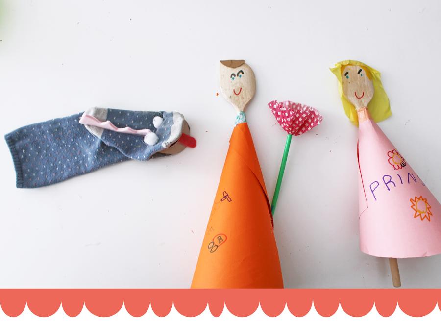DIY marionetas de sant jordi