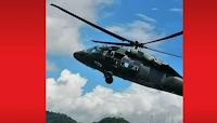 tiros helicóptero viajaba Iván