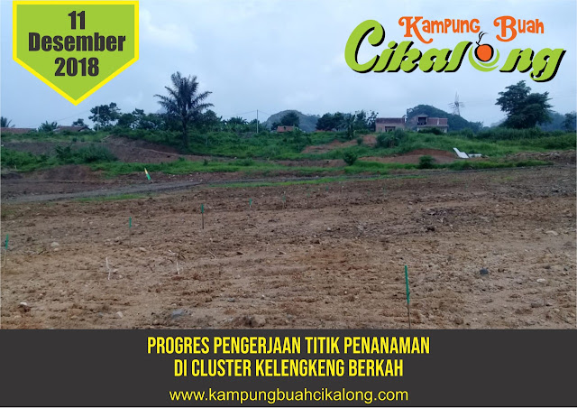 progress kampung buah cikalong