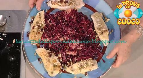 Filetti di San Pietro e insalata calda di cavolo rosso ricetta Moroni da Prova del Cuoco