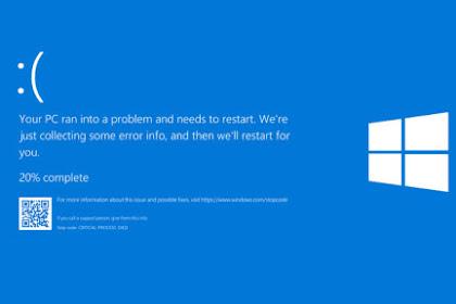 Cara Mengatasi Blue Screen Windows 10 dengan Mudah Pada PC dan Laptop