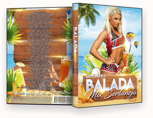 CAPA DVD  – Balada Mix Vol.06 – ISO