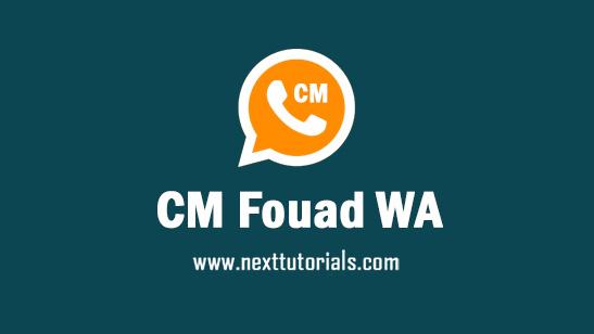 CM Fouad WA v8.95 Apk Mod Latest Version Android,install Aplikasi CM Fouad Whatsapp Terbaru 2021,tema fouad whatsapp keren,donwload wa mod anti blokir