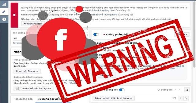 Tổng hợp những từ bị CẤM khi chạy FB quảng cáo Facebook Ads.
