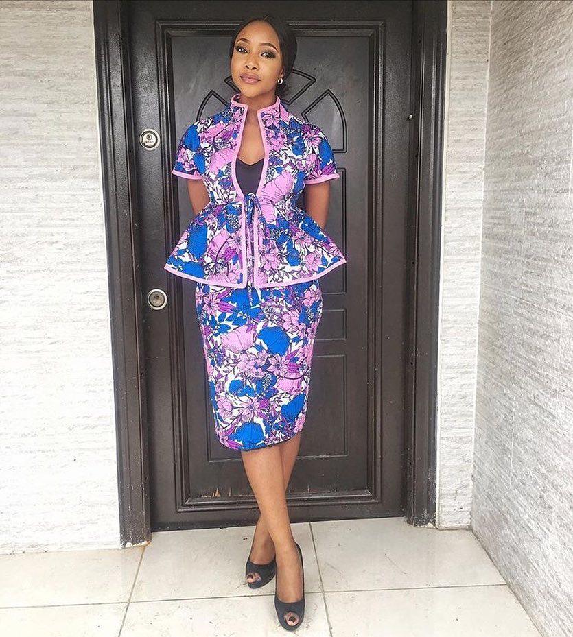 Hottest Ankara Skirt And Blouse Styles For Nigerian Ladies Dezango Fashion Zone