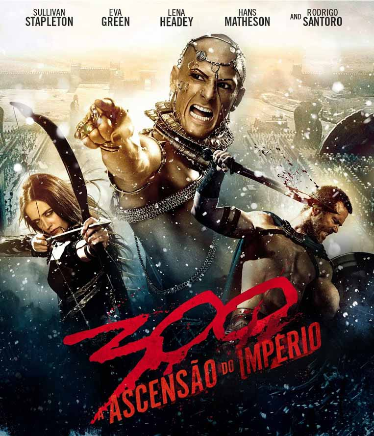 300: A Ascensão Do Império 3D Torrent - BluRay 1080p Dual Áudio