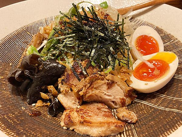 江東区大島の隠れ家ラーメン店『兼吉』の和え麺