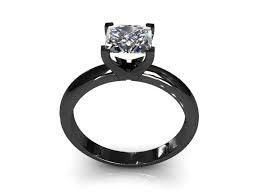 Beautiful Black Diamond Wedding Bands For Her
