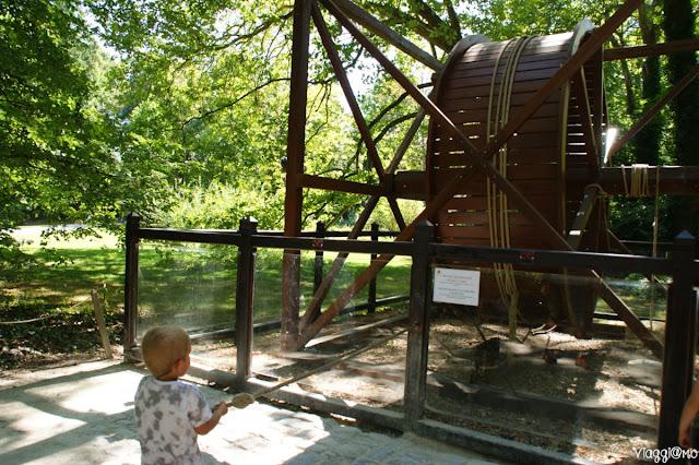 Il parco di Leonardo ed un modellino da provare