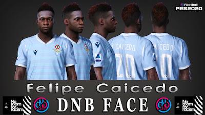 PES 2020 Faces Felipe Caicedo by DNB