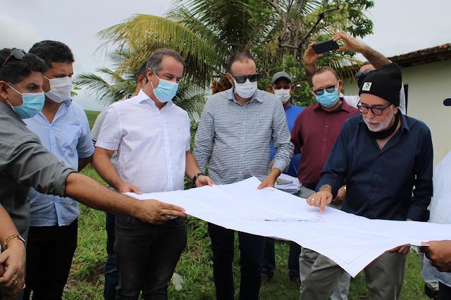 Prefeito de Ribeirão faz vistoria em área onde será instalada metalúrgica que gerará 500 empregos diretos