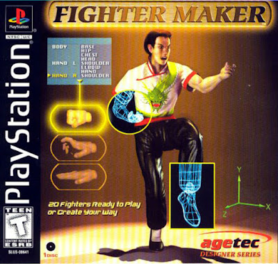 descargar fighter maker psx mega