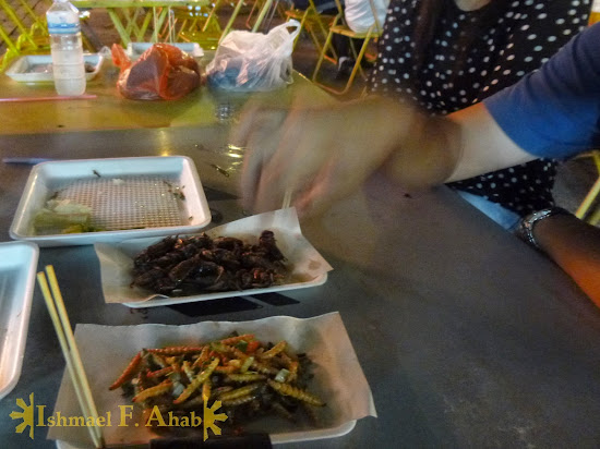 North Thailand - Let's eat bugs in Chiang Rai Night Market