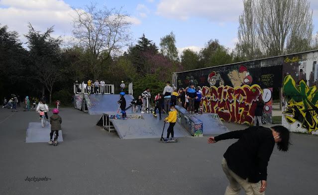 skate park Vitry sur Seine
