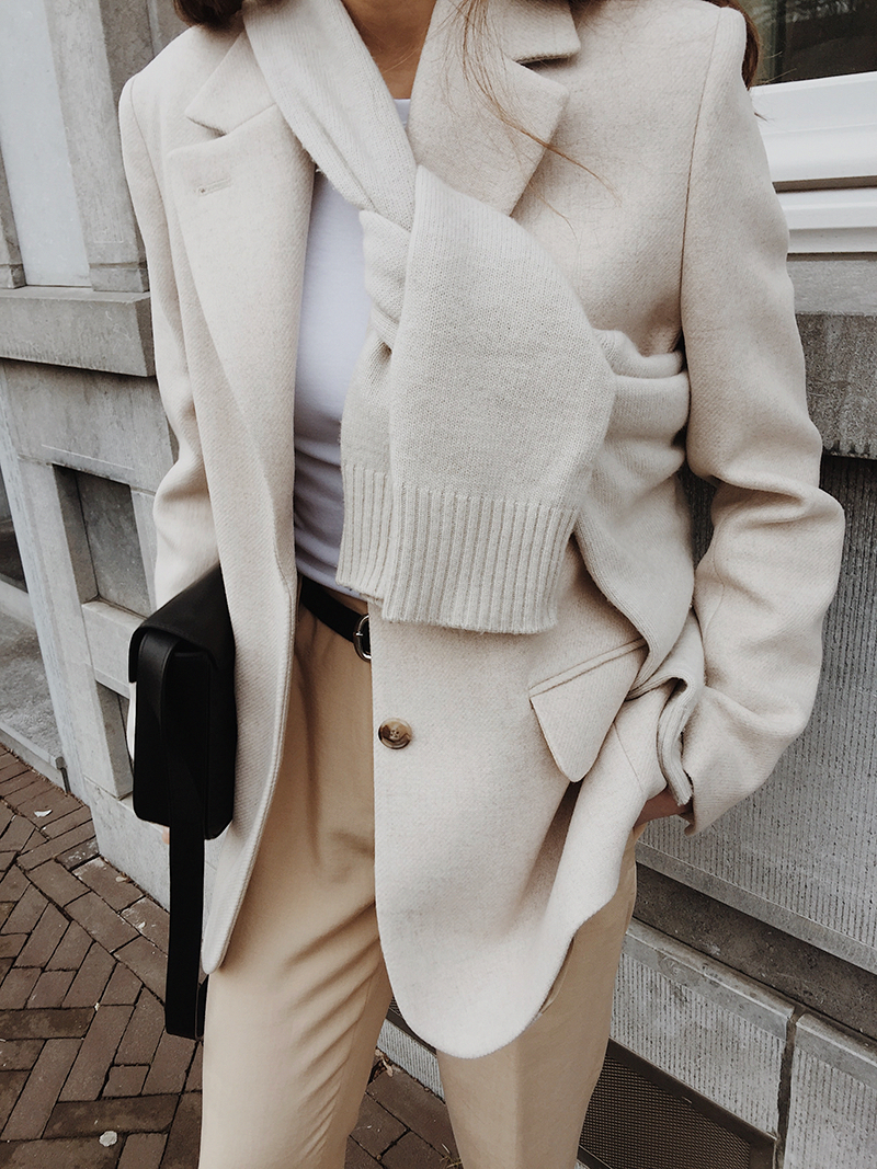 fall fashion sweater blazer winter whites