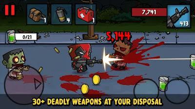 تحميل لعبة زومبي 3 اشهر العاب الاثارة Zombie Age 3
