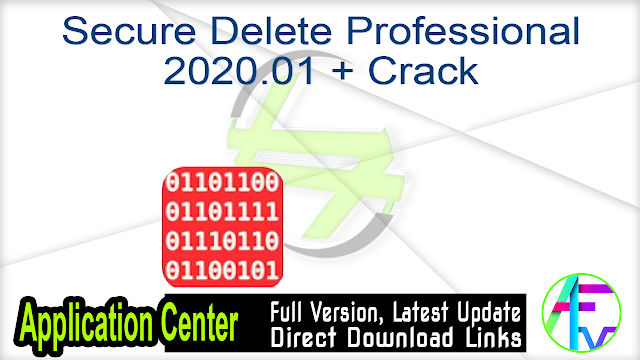 Secure Delete Professional 2020.01 + Crack
