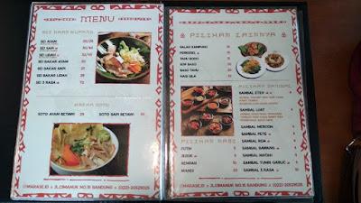 menu harga pricelist ayam turki dan bebek perancis sei marase bandung