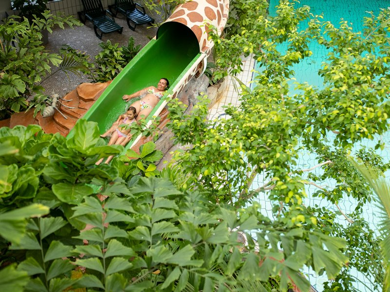 Choosing the Best Center Parcs Holiday in the Netherlands  - Parc Zandvoort Water Slide