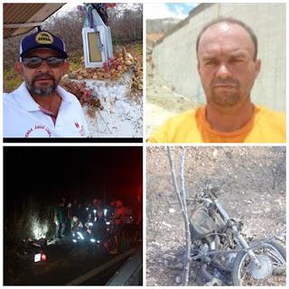 Acidente sábado (28), aumenta número de mortes com motocicletas para sete nos últimos nove dias no Curimataú e Seridó