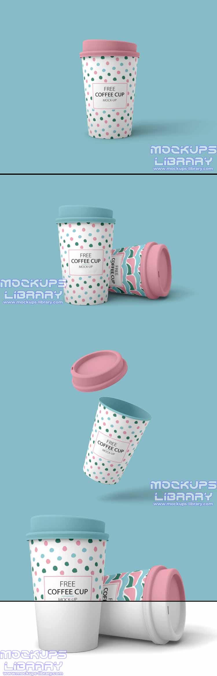 free cup mockup