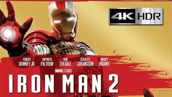 Iron Man 2 (2010) REMUX 4K UHD [HDR] Latino-Castellano-Ingles