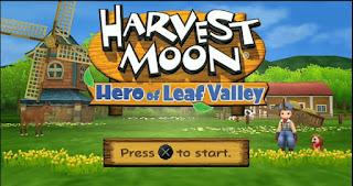 Harvest Moon : Hero Of Leaf Valley ISO PPSSPP SubIndo+SaveData 100 mb