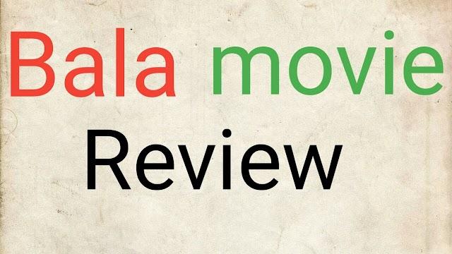 Bala full movie review 2019 | bala movie review